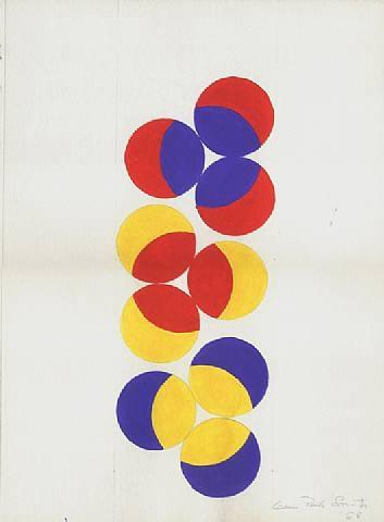 Untitled, 1968 - Leon Polk Smith