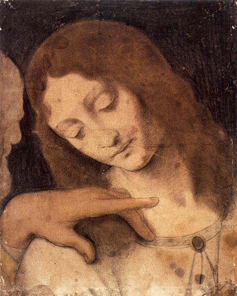Head of St. John the Evangelist - Leonardo da Vinci