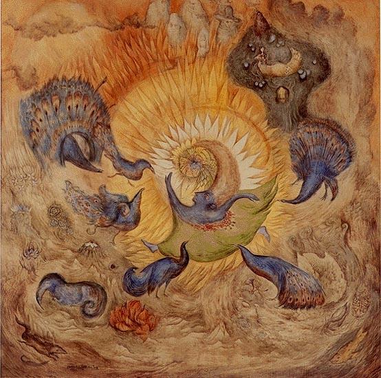 Peacocks of Chen, 1971 - Leonora Carrington