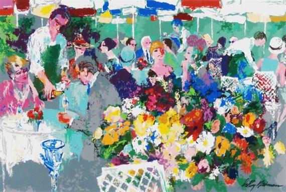 Bistro Garden, 1997 - LeRoy Neiman