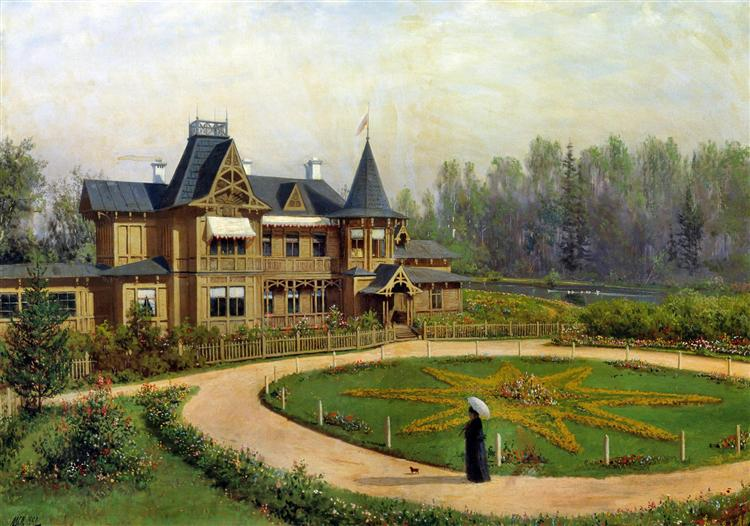 Country house, 1892 - Lev Lagorio