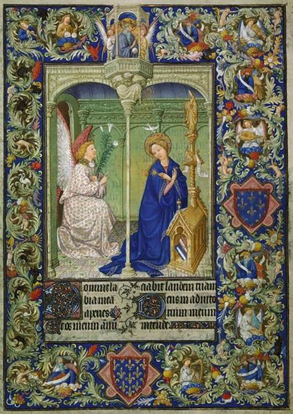 Annunciation - Limbourg brothers