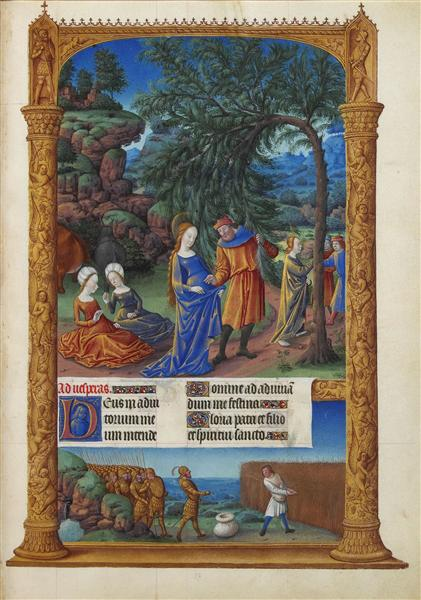 The Flight into Egypt - Limbourg brothers