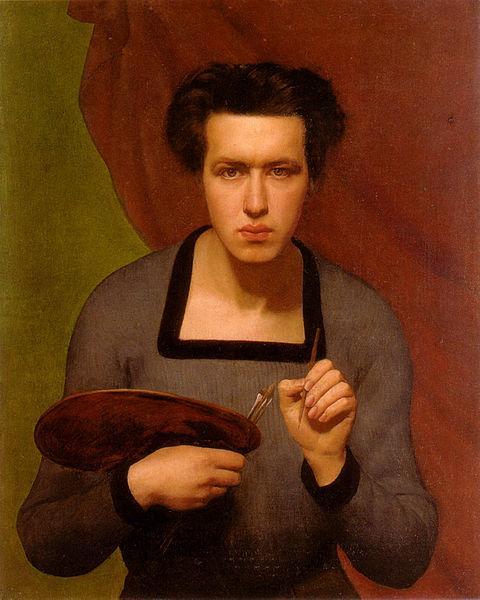 Portrait de l'artiste, 1832 - Louis Janmot
