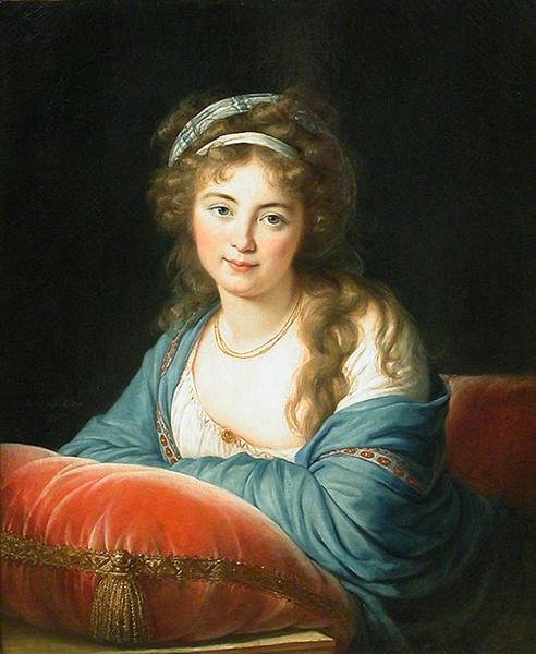 Countess Skavronskaia, 1796 - Элизабет Луиза Виже-Лебрен