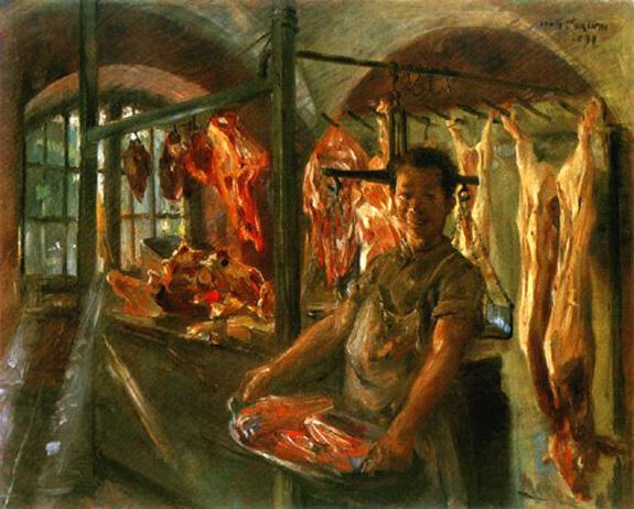 Butcher Shop, 1897 - Lovis Corinth