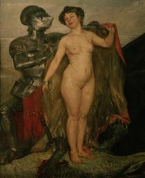 Perseus and Andromeda - Lovis Corinth