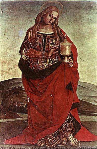 Mary Magdalene - Luca Signorelli