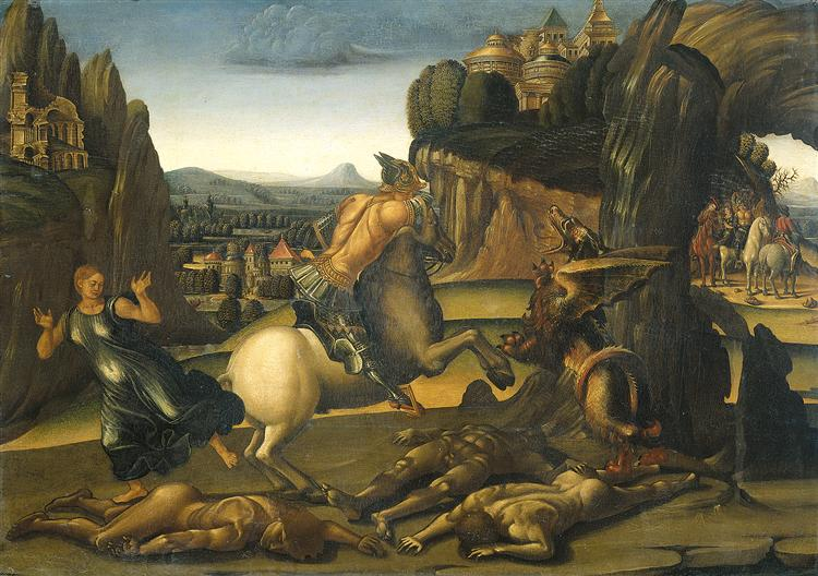 Saint George and the Dragon - Luca Signorelli