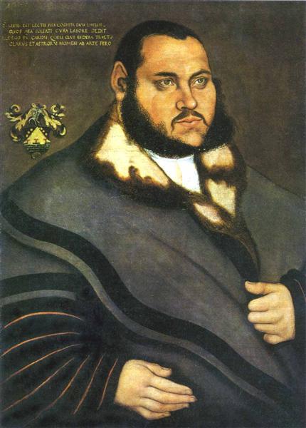 Johannes Carion, c.1530 - Lucas Cranach the Elder