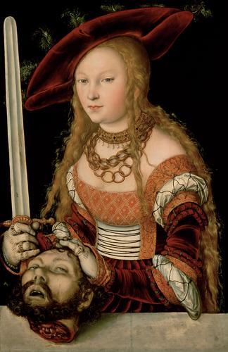 Judith with the head of Holofernes, c.1530 - Lucas Cranach der Ältere