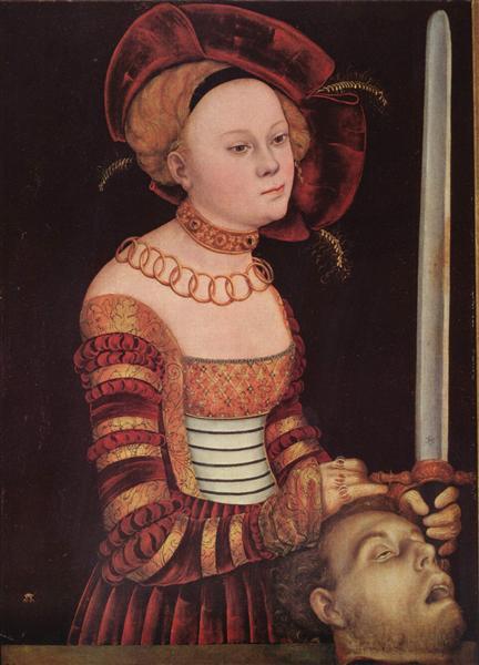 Judith - Lucas Cranach der Ältere