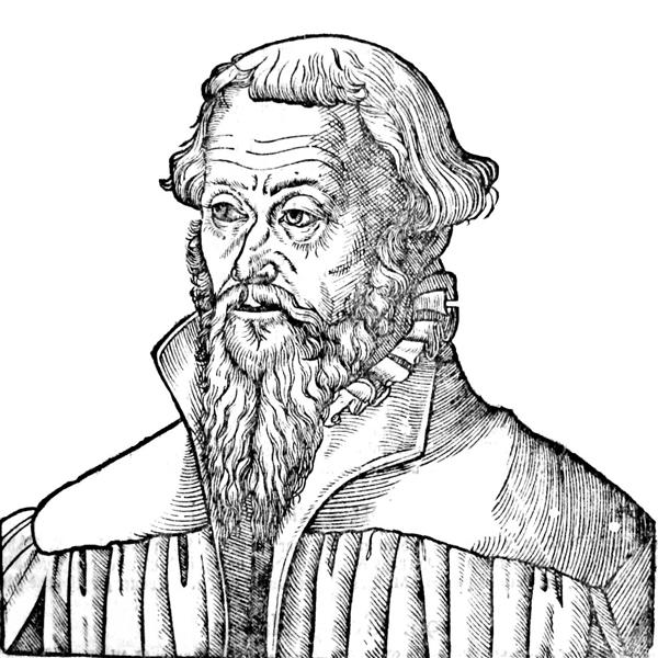 Nicholaus Gallus, a Lutheran theologian and reformer - Lucas Cranach der Ältere