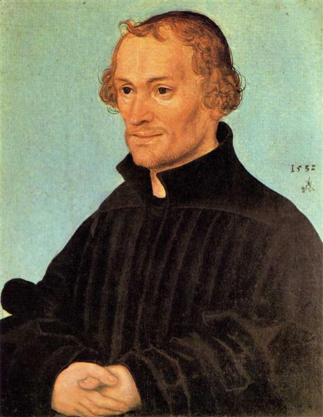 Philipp Melanchthon, 1532 - Lucas Cranach el Viejo