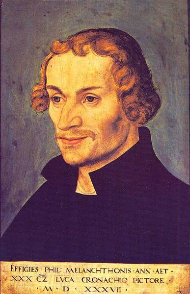 Philipp Melanchthon, 1537 - Lucas Cranach der Ältere