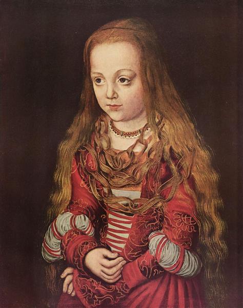 Portrait of a Saxon Princess, 1517 - Lucas Cranach der Ältere