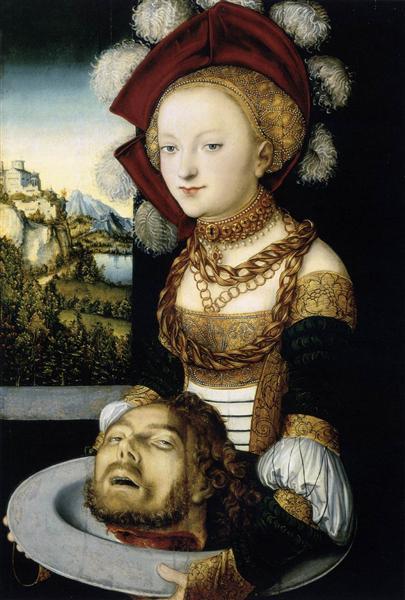 Salome, c.1530 - Lucas Cranach der Ältere