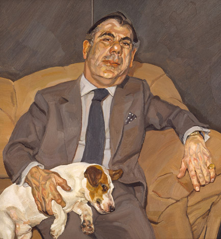 Guy And Speck 1980 1981 Lucian Freud Wikiart Org