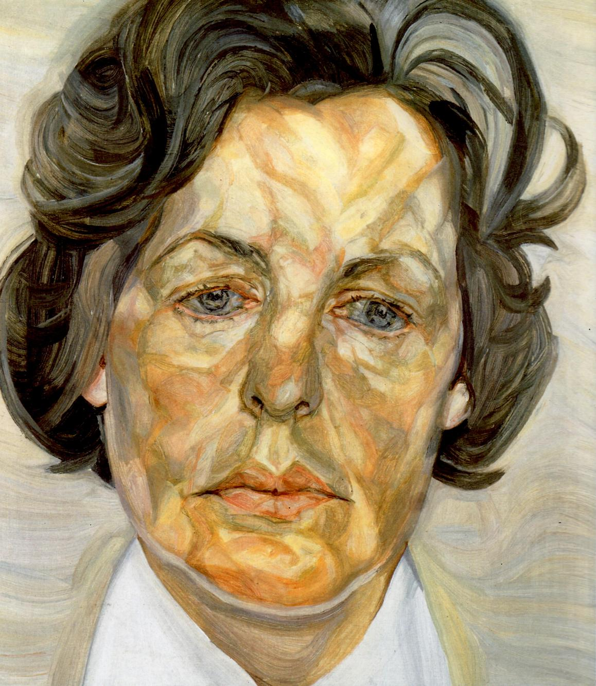 Woman in a White Shirt, 1956 - 1957 - Lucian Freud - WikiArt.org