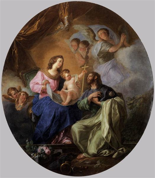 Virgin and Child with St James the Great, 1786 - Луїс Парет-і-Алькасар