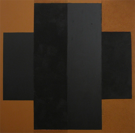 Painting. Black and Brown, 1987 - Lygia Pape