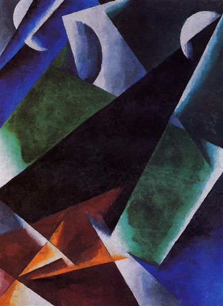 Painterly-Architectonic, c.1918 - Lyubov Popova