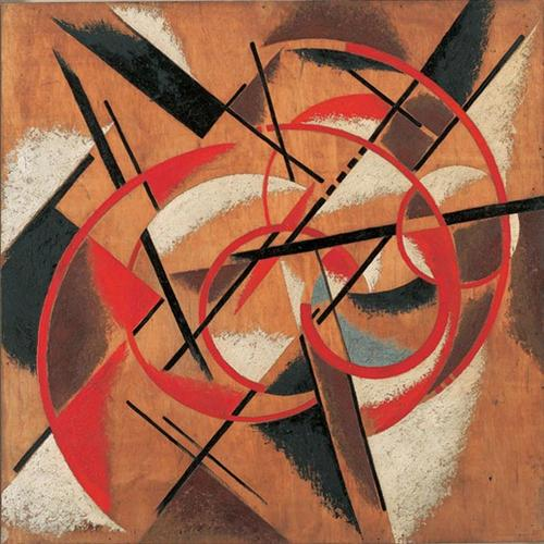 Space Force Construction - Lyubov Popova