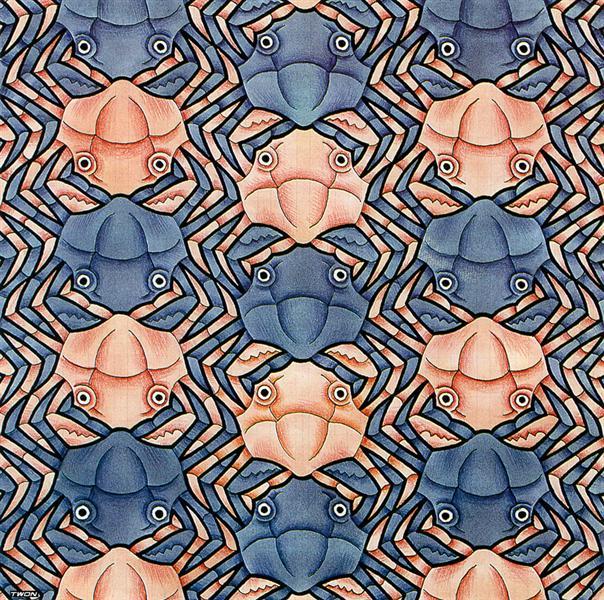 Crab Canon - M.C. Escher