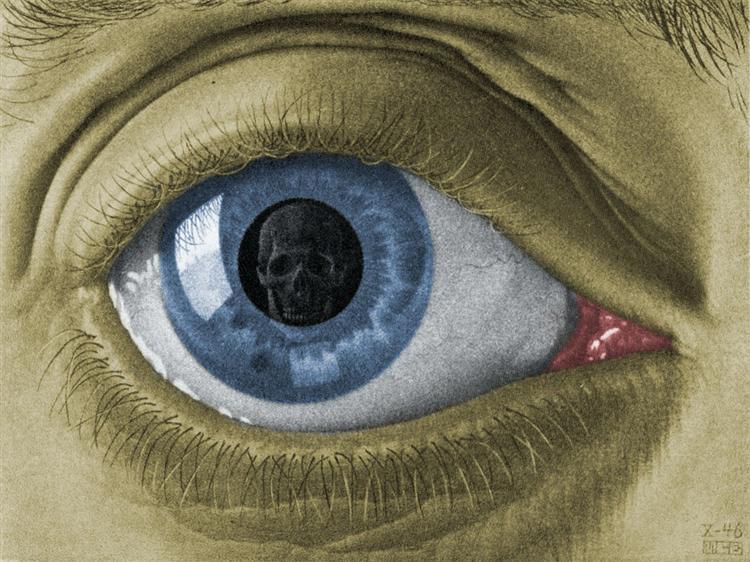 Eye Colour, 1946 - M.C. Escher
