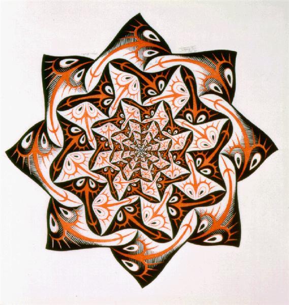 Path of Life I, 1958 - M. C. Escher