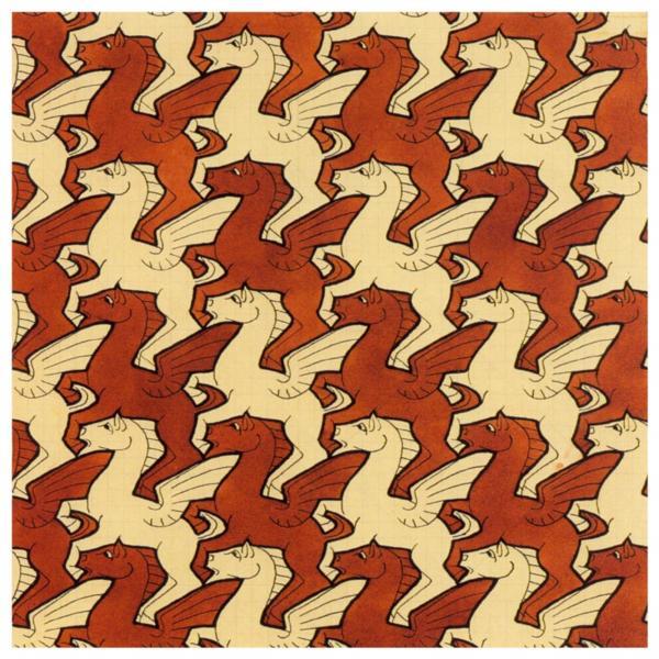 Pegasus (No. 105), 1959 - M.C. Escher