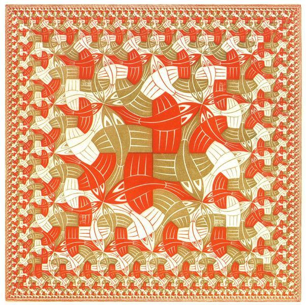 Square Limit Colour, 1964 - M.C. Escher