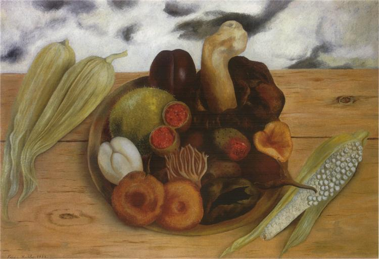 Fruits of the Earth, 1938 - Фріда Кало