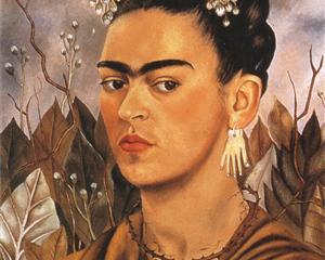 Self Portrait Dedicated to Dr Eloesser - Frida Kahlo