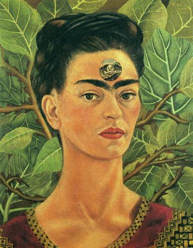 Thinking About Death - Frida Kahlo