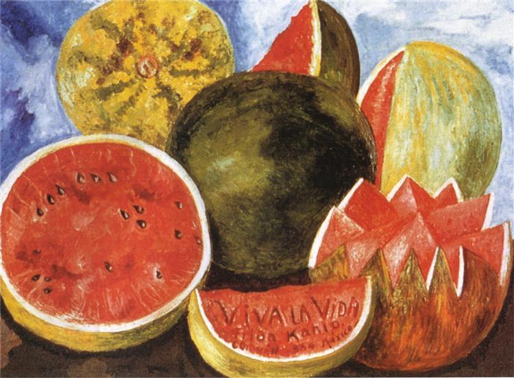Да здравствует жизнь!, 1954 - Фрида Кало