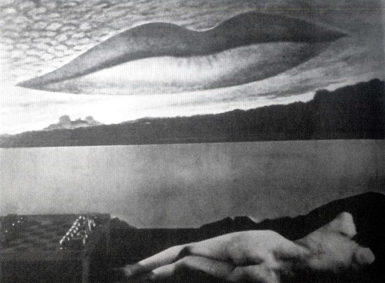 Observatory Time: The Lovers, 1936 - Ман Рэй
