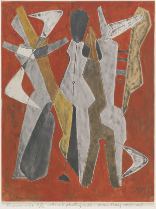 Promenade, 1915 - 1945 - Man Ray