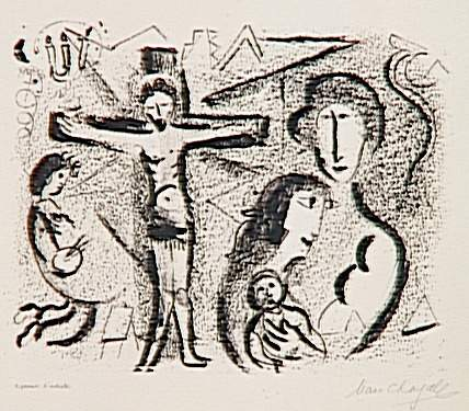Christ family, 1959 - Marc Chagall