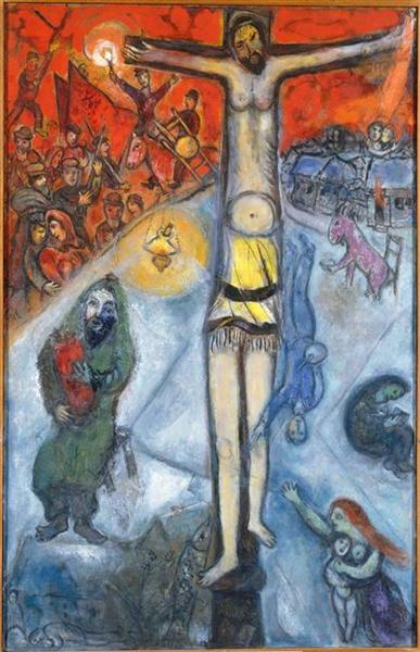 Resurrection, 1937 - 1952 - Marc Chagall