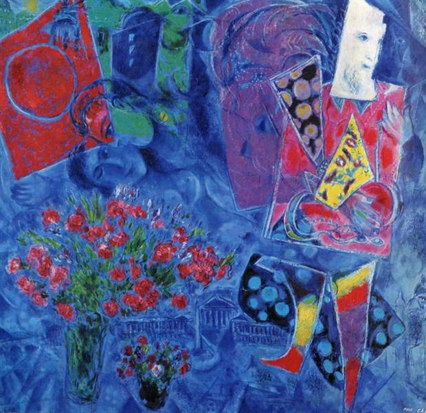 Resultado de imagen para marc chagall the magician