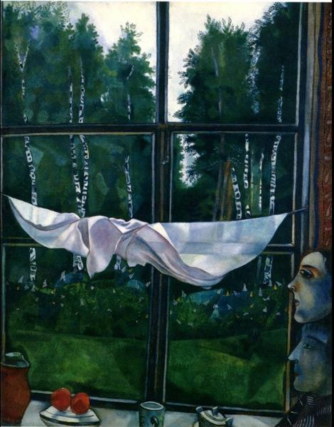 Window in the Country, 1915 - Marc Chagall