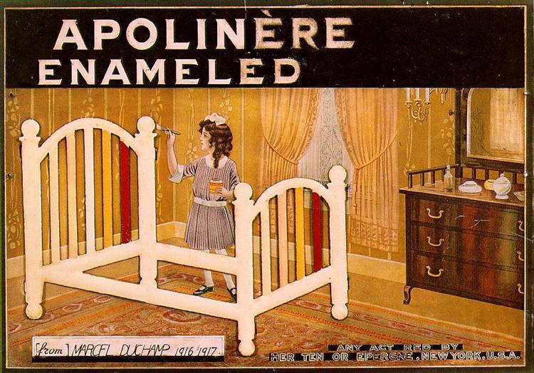 Apolinere Enamelled, 1916 - Marcel Duchamp
