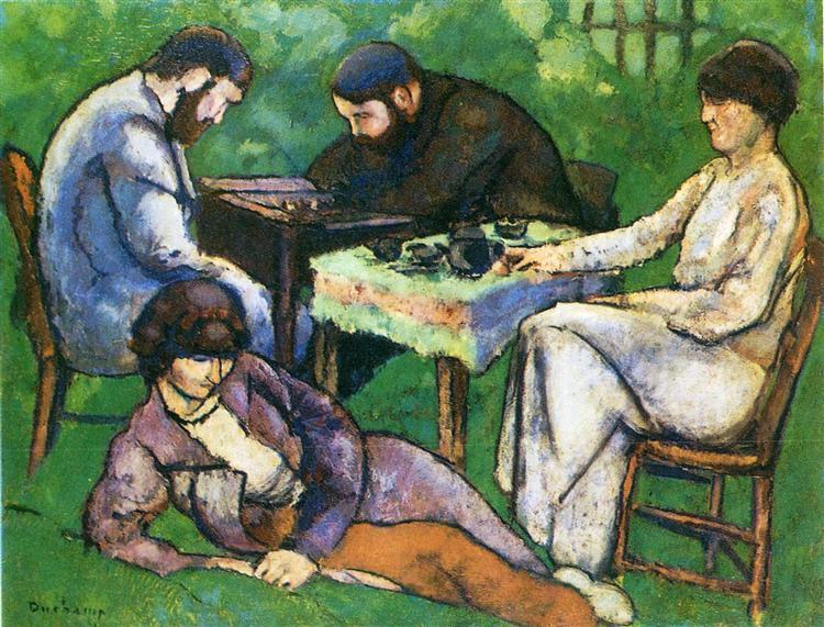 Chess Game, 1910 - Marcel Duchamp