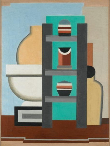 Composition abstraite, 1926 - Marcelle Cahn