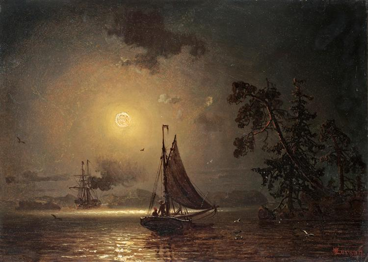 Nocturnal voyage - Marcus Larson