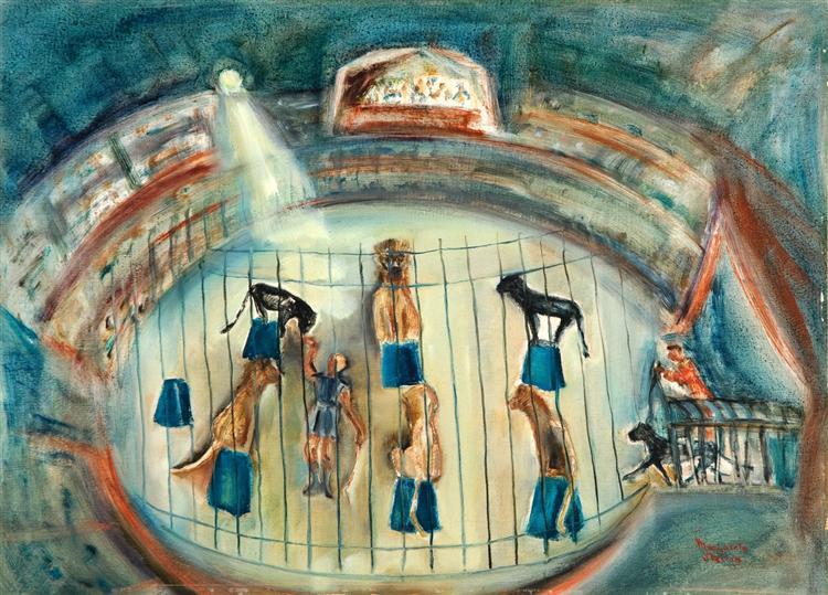 Circus scene - Margareta Sterian
