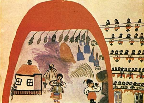 "Spectacle ""Cossack beyond the Danube"", 1936 - Maria Primachenko"