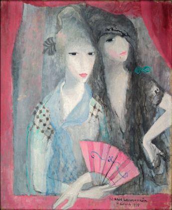 Les deux Espagnoles, 1915 - Marie Laurencin - WikiArt.org