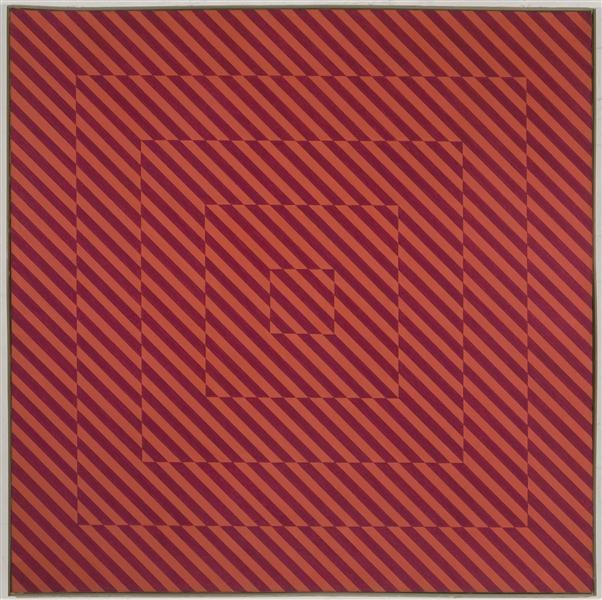 Sequenze quadrangolari - concetto di distorsione, 1964 - Mario Ballocco